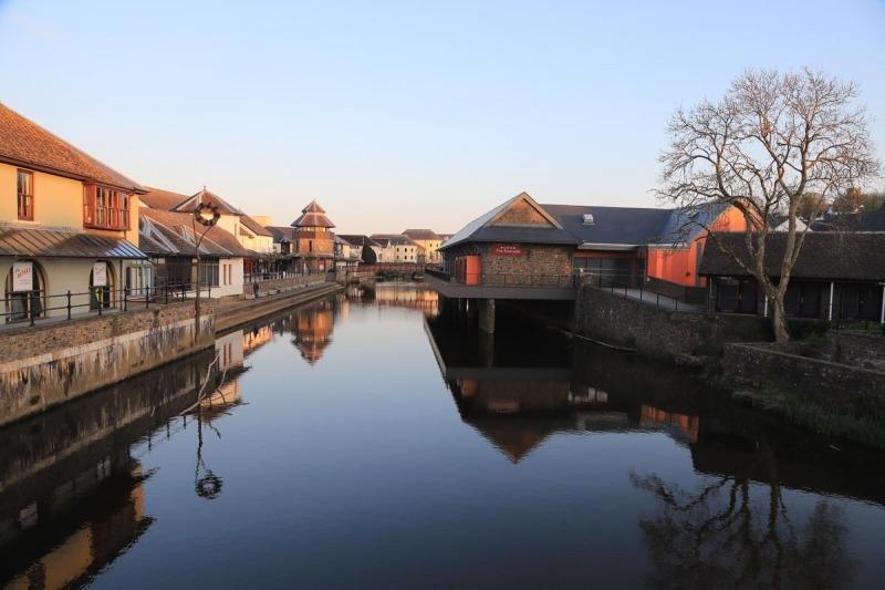 Western Cleddau and Riverside Shops