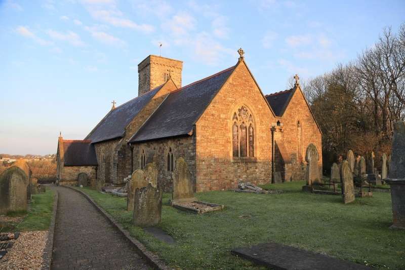 St David's Parish Church, Prendergast